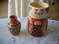 Miska kancsó és kis váza eladó!