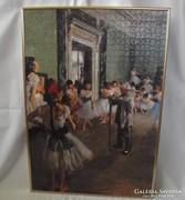 Edgar Degas festményei nyomán,puzzle falikép