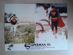Superman III mozi reklám fotói, 4 db