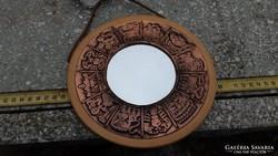 Bronz-fa kicsi kézi tükör