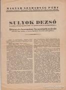 Sulyok Dezső beszéde a Nemzetgyűlésben, 1947. június 12