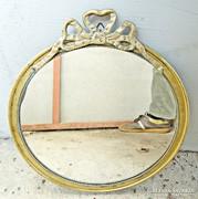 Szecessziós fali tükör