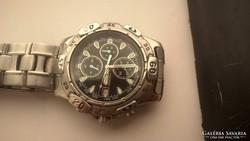 Acél tokos Citizen chronograph