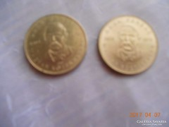 2003 / 2 db Deák 20 Forint