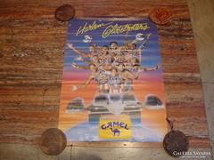 Harlem Globetrotters Camel 1988 plakát
