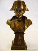 Bronz Napóleon mellszobor