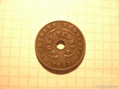 1 Penny Southern Rhodesia 1940  !