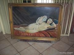 Antik Akt festmény
