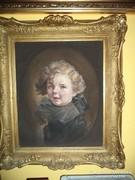 Arthur Pán   híres festő Kisfiú portré Egy kis herceg