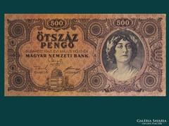 500 PENGŐ - KIVÁLÓ ÁLLAPOTBAN