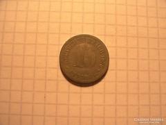 """10 Pfennig 1876 """"D"""" !"""