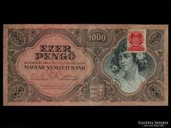 1000 PENGŐS - NAGYON JÓ ÁLLAPOTBAN - BÉLYEGGEL