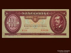 100 FORINTOS UNC - KÜLÖNLEGES BANKJEGY