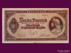 100 PENGŐ NAGYON JÓ ÁLLAPOTBAN 1945-BÓL