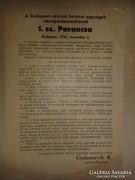 Budapesti szovjet katonai parancsnokságának 1. parancsa 1956
