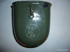 BGE BRUNN 1916 I.Világháborús tiszti kulacspohár