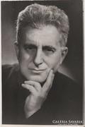 Sík Sándor (1889-1963) költő fotója.