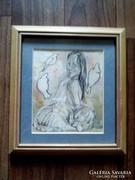 Szántó Dezső Palya Bea festmény