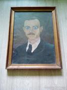 Festmény Réső szignóval