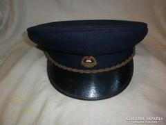Régi postás kalap tányér sapka 1962