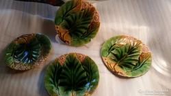 Majolika tányérok 4db 20cm