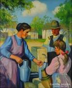 0L801 Parobek Alajos : Kútnál 1947