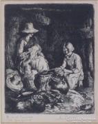 """Cseney László : """"...el Rancho"""" 1935"""
