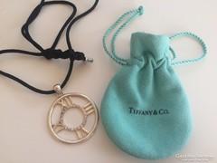 Tiffany & Co. ezüst ATLAS medál 925-ezüst nyakékkel