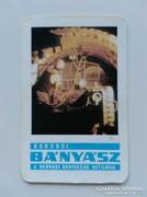 Kártyanaptár - 1980 - Borsodi Bányász