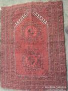 Antik, keleti, kisméretű szőnyeg  95x70 cm