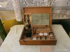 Kisméretü hordózható Mikroszkop Type: II/Sk   német