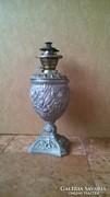 Spiáter petróleum lámpa ( vintage )