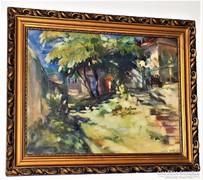 Xantus Gyula (1919-1993) Fények Képcsarnokos korai munkája