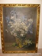 Otto galériás Német festő olaj-vászon 65X48 cm-es