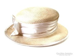 Eredeti Girardi alkalmi kalap, selyem dísszel, masnival.