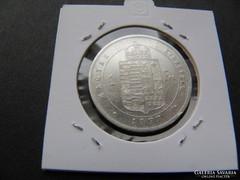 Ezüst 1 forint 1877 gyönyörű tartásban FJ.RR! Leárazva!! (3)