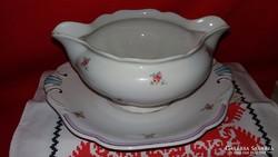 Antik Bamberger & Co H&C porcelán szószos tál
