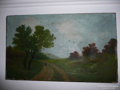 Pintér Ronald szép festménye keret nélkül 51*31 cm
