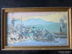 1914-es világháborús életkép eladó