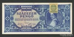 100.000 pengö kék.
