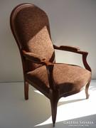 Restaurált neobarokk fotel.......