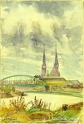 """0L905 Szili Török Dezső : """"Szeged"""" 1957"""