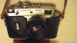 ZORKI - 4 K - régi analóg,mechanikus orosz fényképezőgép.