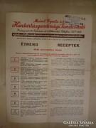 Meinl Gyula Rt. háztartásgazdasági tanácsadója 1941-ből.