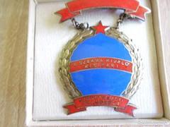 Szocialista kitüntetés: A szakma kiváló kisipari dolgozója