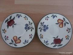 2 darab angol porcelán kistányér