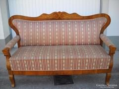 Antik favázas biedermeier kanapé eladó!