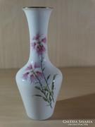 Kézzel festett nagyméretű Huttschenreuther váza, aláirt !