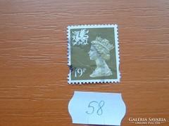 ANGOL 19 PENNY II. ERZSÉBET KIRÁLYNŐ 58.