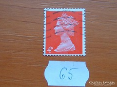 ANGOL 4 D II. ERZSÉBET KIRÁLYNŐ 65.